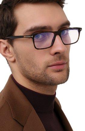 Мужские оправа TOM FORD коричневого цвета, арт. TF5681-B 052 54 | Фото 2