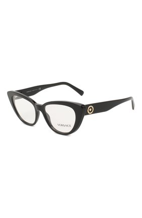 Женские оправа VERSACE черного цвета, арт. 3286-GB1   Фото 1 (Тип очков: Оправа; Оптика Гендер: оптика-женское; Очки форма: Cat-eye)
