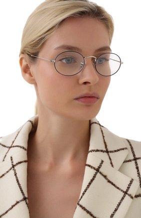 Женские оправа RAY-BAN серебряного цвета, арт. 3547V-2970 | Фото 2