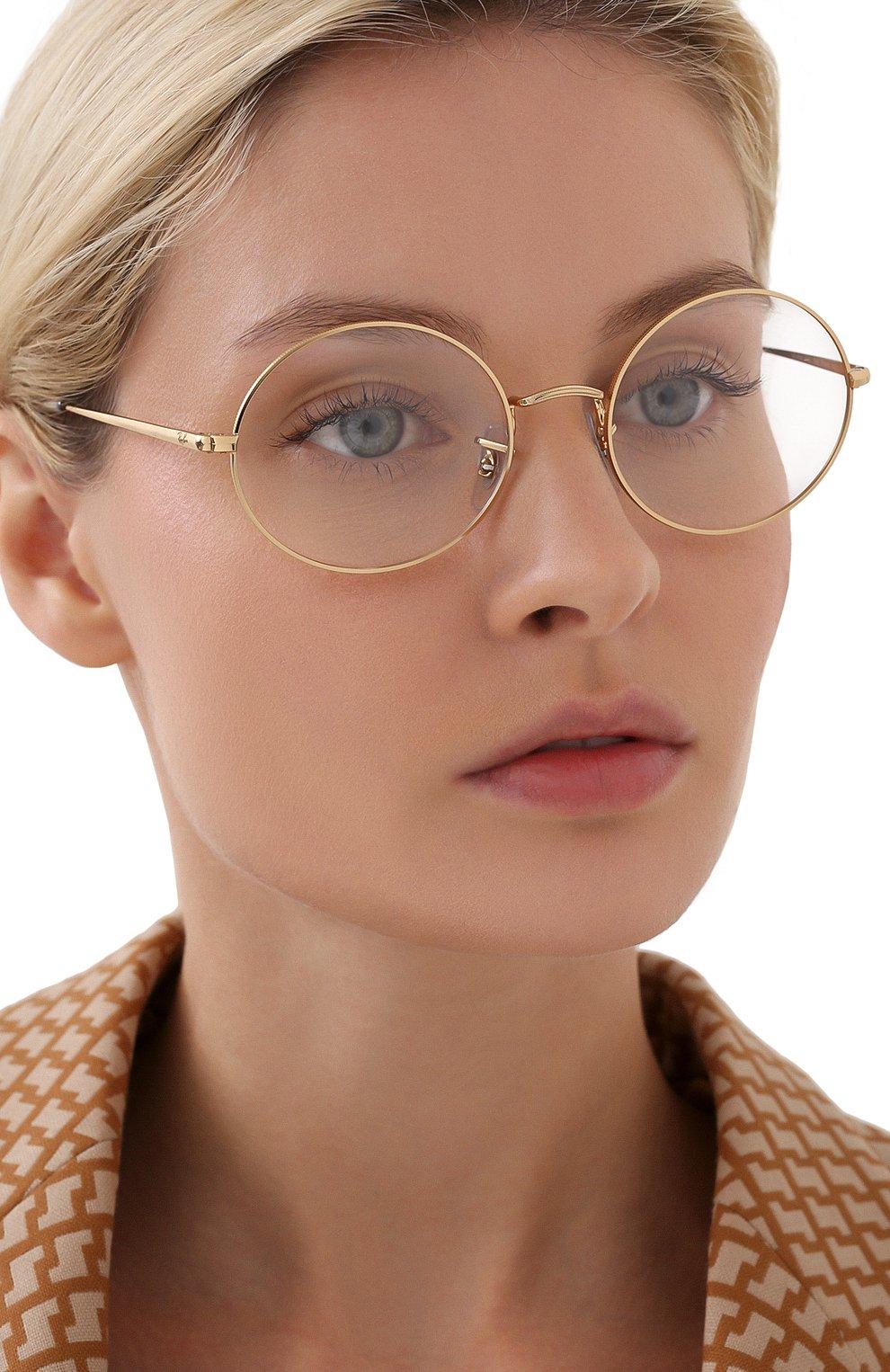 Женские оправа RAY-BAN золотого цвета, арт. 1970V-3086 | Фото 2