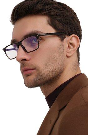 Мужские оправа TOM FORD коричневого цвета, арт. TF5681-B 052 56 | Фото 2