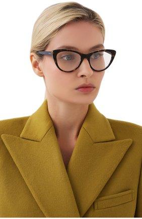 Женские оправа PRADA коричневого цвета, арт. 05XV-512101 | Фото 2