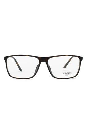 Мужские оправа STARCK EYES коричневого цвета, арт. 3030-0002 | Фото 3 (Тип очков: Оправа; Очки форма: Прямоугольные; Оптика Гендер: оптика-мужское)