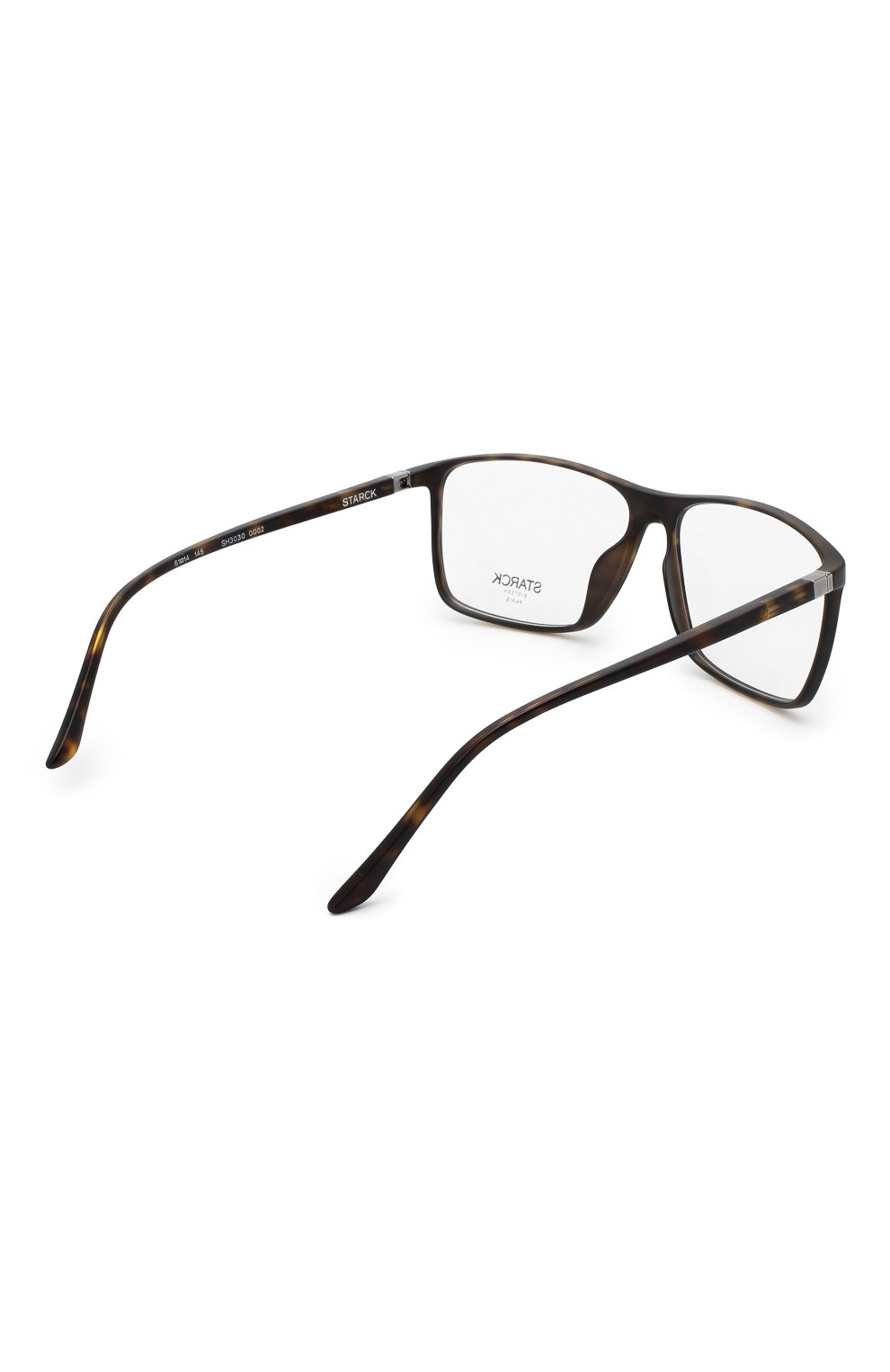 Мужские оправа STARCK EYES коричневого цвета, арт. 3030-0002 | Фото 4 (Тип очков: Оправа; Очки форма: Прямоугольные; Оптика Гендер: оптика-мужское)