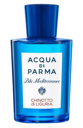 Туалетная вода blu mediterraneo chinotto di liguria ACQUA DI PARMA бесцветного цвета, арт. 57036 | Фото 1