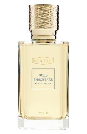 Женский парфюмерная вода gold immortals EX NIHILO бесцветного цвета, арт. 3760264093565 | Фото 1