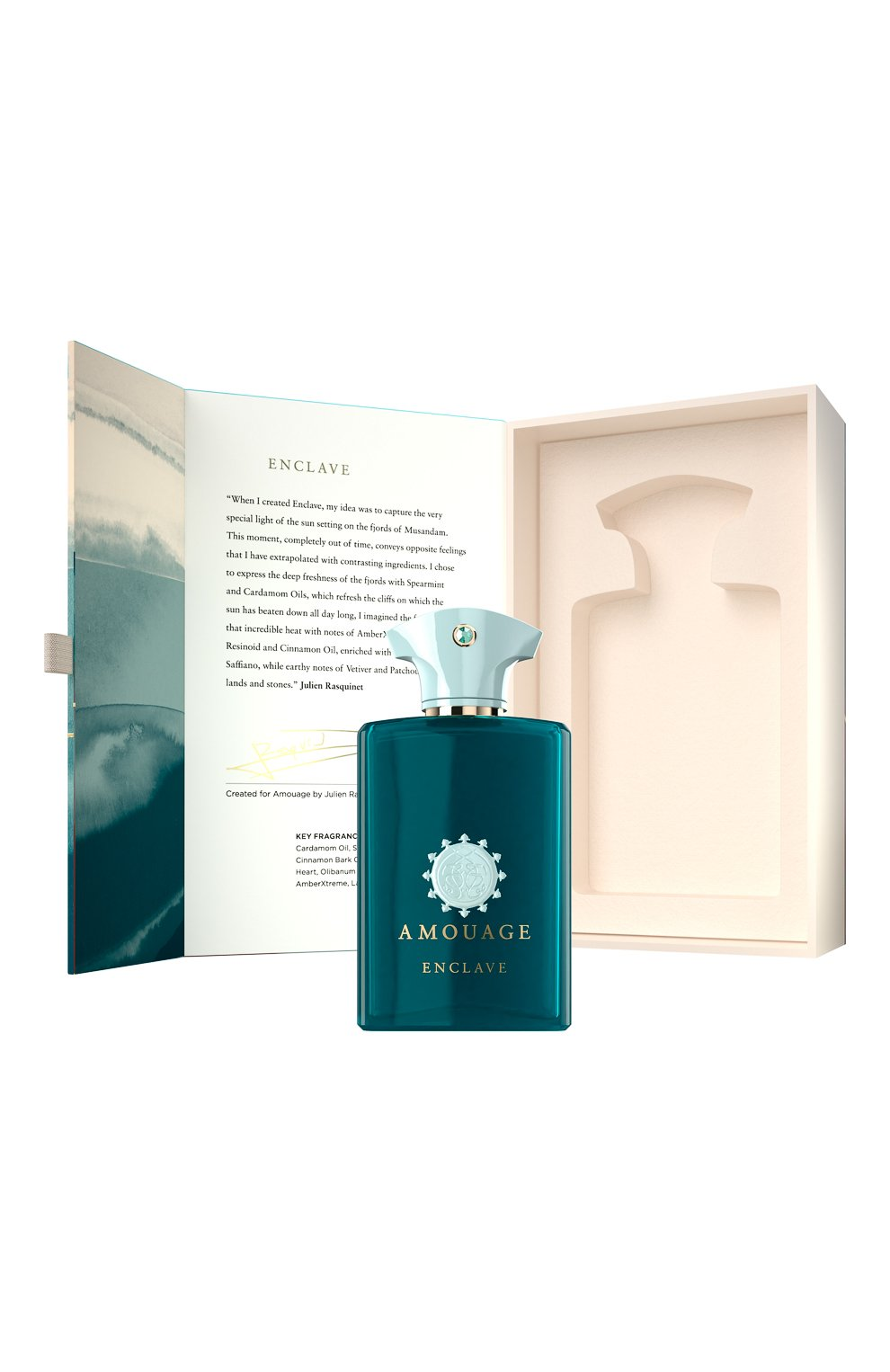 Мужской парфюмерная вода enclave AMOUAGE бесцветного цвета, арт. 40002   Фото 7