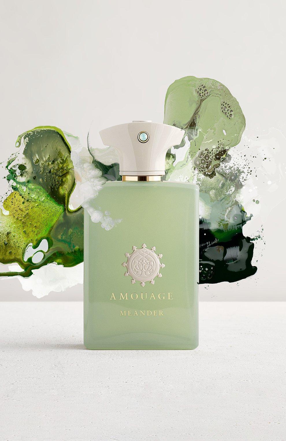 Мужской парфюмерная вода meander AMOUAGE бесцветного цвета, арт. 40004   Фото 2