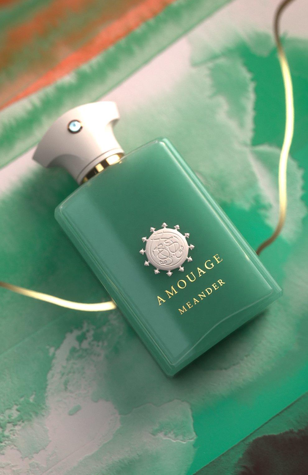 Мужской парфюмерная вода meander AMOUAGE бесцветного цвета, арт. 40004   Фото 6
