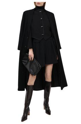 Женский жакет GIORGIO ARMANI черного цвета, арт. 0WHGG0J6/T0241 | Фото 2