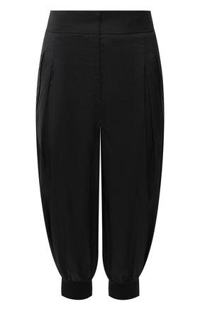 Женские брюки GIORGIO ARMANI черного цвета, арт. 0WHPP0FR/T0270 | Фото 1