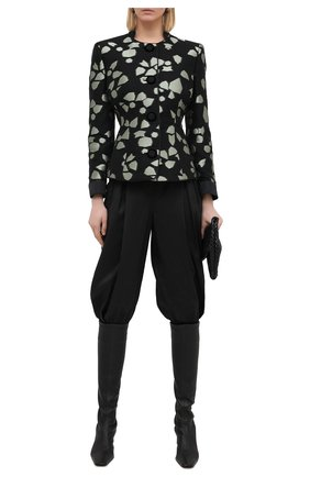 Женские брюки GIORGIO ARMANI черного цвета, арт. 0WHPP0FR/T0270 | Фото 2