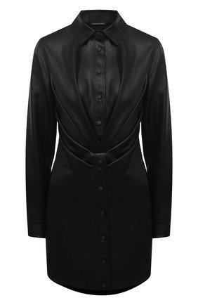Женское платье RTA черного цвета, арт. WF0556-6060BLK | Фото 1