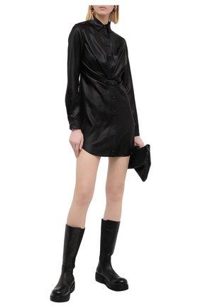 Женское платье RTA черного цвета, арт. WF0556-6060BLK | Фото 2
