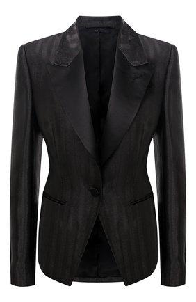 Женский жакет TOM FORD черного цвета, арт. GI2755-FAX754 | Фото 1