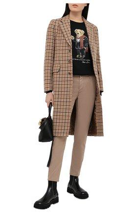Женские брюки AG бежевого цвета, арт. SBW1613/PART/MX | Фото 2