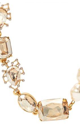 Женское колье OSCAR DE LA RENTA золотого цвета, арт. P20J030XCGS | Фото 2