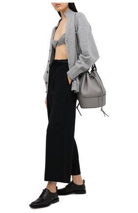 Женские шерстяные брюки Y`S черного цвета, арт. YR-P48-135 | Фото 2