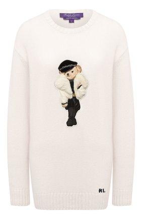 Женский свитер RALPH LAUREN кремвого цвета, арт. 290836363 | Фото 1