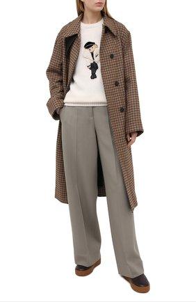 Женский свитер RALPH LAUREN кремвого цвета, арт. 290836363 | Фото 2