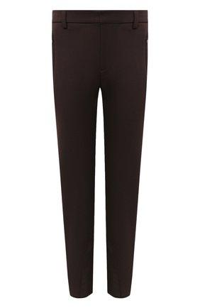 Женские брюки RALPH LAUREN коричневого цвета, арт. 290836347 | Фото 1
