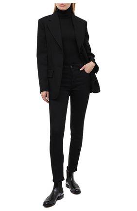 Женские кожаные ботинки CHURCH'S черного цвета, арт. DT0001/9XV | Фото 2