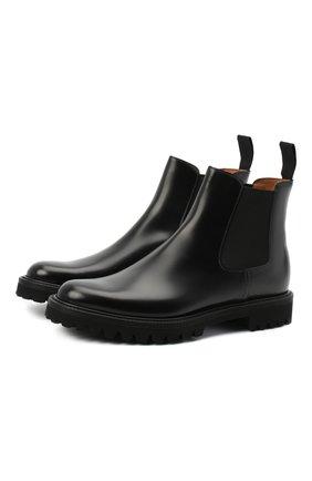 Женские кожаные ботинки CHURCH'S черного цвета, арт. DT0181/9SN | Фото 1