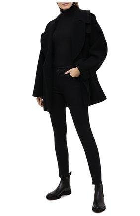 Женские кожаные ботинки CHURCH'S черного цвета, арт. DT0181/9SN | Фото 2