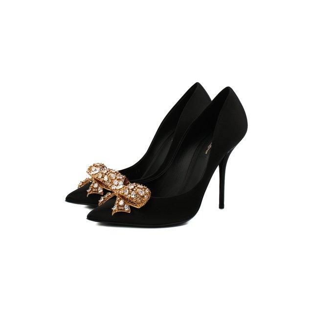 Текстильные туфли Dolce & Gabbana