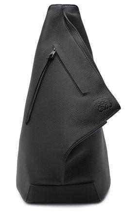 Мужской кожаный рюкзак LOEWE черного цвета, арт. B511A92X01   Фото 1