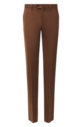 Мужские кашемировые брюки LORO PIANA коричневого цвета, арт. FAL4339 | Фото 1 (Случай: Формальный, Повседневный; Стили: Классический, Кэжуэл; Материал внешний: Кашемир)