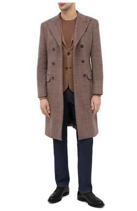 Мужской кашемировый пиджак LORO PIANA бежевого цвета, арт. FAL2351 | Фото 2