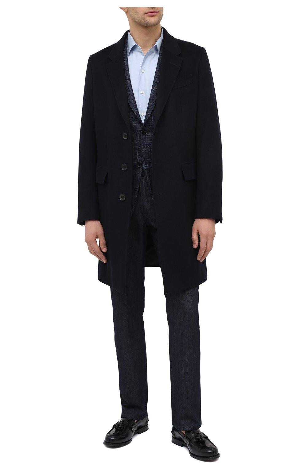 Мужские кожаные лоферы CHURCH'S черного цвета, арт. EDC058/9LG | Фото 2