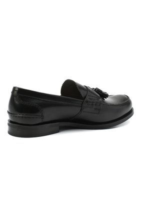 Мужские кожаные лоферы CHURCH'S черного цвета, арт. EDC058/9LG | Фото 4