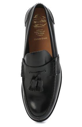 Мужские кожаные лоферы CHURCH'S черного цвета, арт. EDC058/9LG | Фото 5