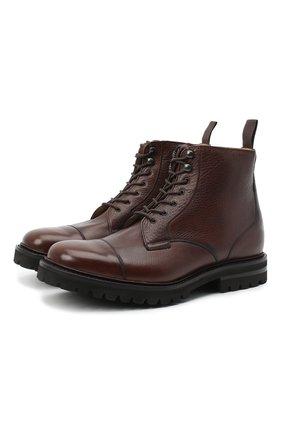 Мужские кожаные ботинки CHURCH'S коричневого цвета, арт. ETC188/9AF0 | Фото 1