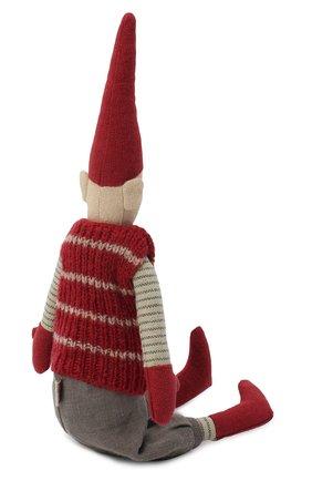 Детского игрушка гном пикси мини MAILEG красного цвета, арт. 14-0420-00   Фото 2