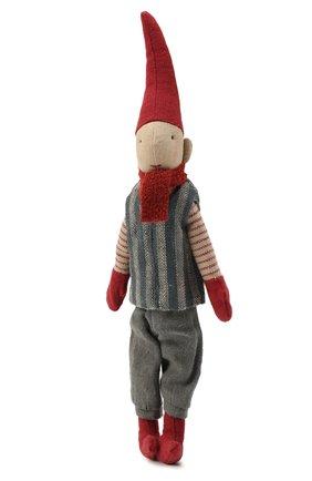 Детского игрушка гном пикси с магнитом MAILEG красного цвета, арт. 14-0410-00   Фото 2