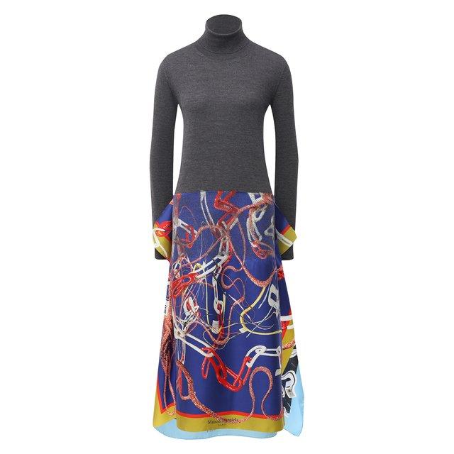 Шерстяное платье Maison Margiela