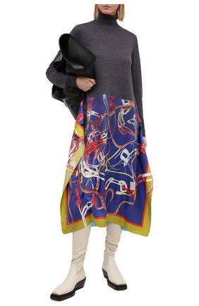 Женское шерстяное платье MAISON MARGIELA серого цвета, арт. S29CT0996/S17583 | Фото 2