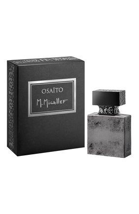 Мужской парфюмерная вода osaito M. MICALLEF бесцветного цвета, арт. 3760231057682 | Фото 1