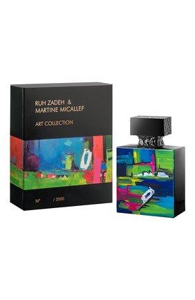 Женский парфюмерная вода art collection ruh zadeh & martine M. MICALLEF бесцветного цвета, арт. 3760231058351 | Фото 1