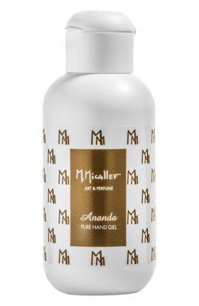 Очищающий парфюмированный гель для рук ananda M. MICALLEF бесцветного цвета, арт. 3760231059839   Фото 1