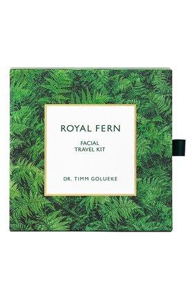 Мужского набор для путешествия facial travel kit ROYAL FERN бесцветного цвета, арт. 4260407470493 | Фото 1