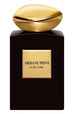 Парфюмерная вода cuir noir GIORGIO ARMANI бесцветного цвета, арт. 3605521560995 | Фото 1