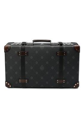 Мужской чемодан berluti x globe trotter BERLUTI черного цвета, арт. M212763 | Фото 1