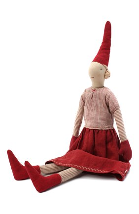 Детского игрушка гном пикси лаура макси MAILEG красного цвета, арт. 14-9441-00   Фото 1