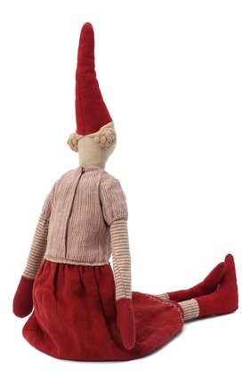 Детского игрушка гном пикси лаура макси MAILEG красного цвета, арт. 14-9441-00   Фото 2