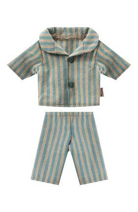 Детского игрушечная пижама для сына мишки тедди MAILEG разноцветного цвета, арт. 16-0822-00 | Фото 1