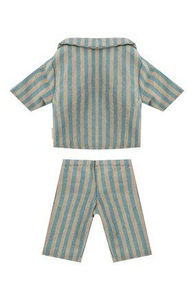 Детского игрушечная пижама для сына мишки тедди MAILEG разноцветного цвета, арт. 16-0822-00 | Фото 2